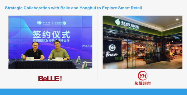 Horizon Robotics' early customers in retail: Belle Shoes and YH Supermarkets
