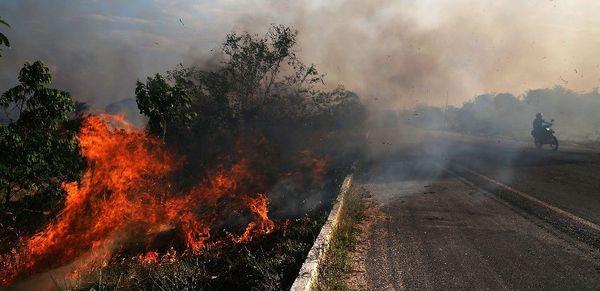 """Diese kleine brasilianische Zeitung berichtete schon vor zwei Wochen von einem """"Tag des Feuers"""""""