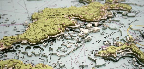 Landfall — hand-made, physical 3D nautical maps