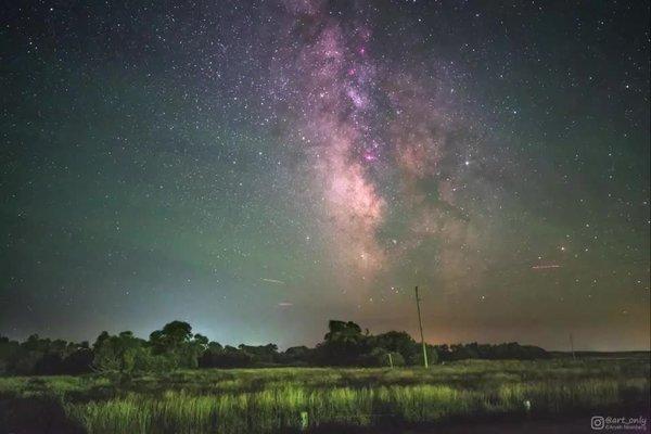 Was hinter dem Gif steckt, bei dem die Erde um die Milchstraße rotiert