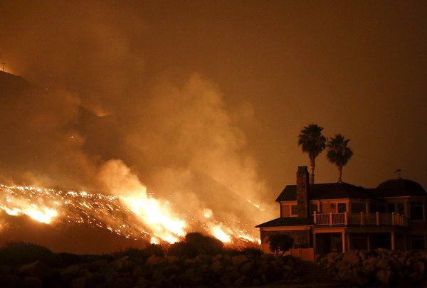 It's official: Parts of California are too wildfire-prone to insure