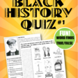 Black History Quiz Store Teaching Resources | Teachers Pay Teachers