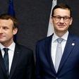 Macron przyleci do Polski. Morawiecki zapowiada wizytę