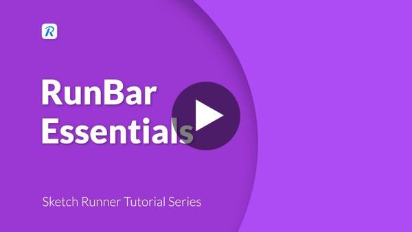 Tutorial: RunBar Essentials