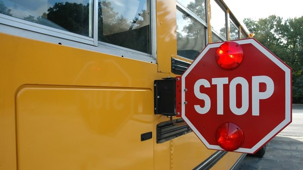 California bus laws: When you can and can't drive past a school bus