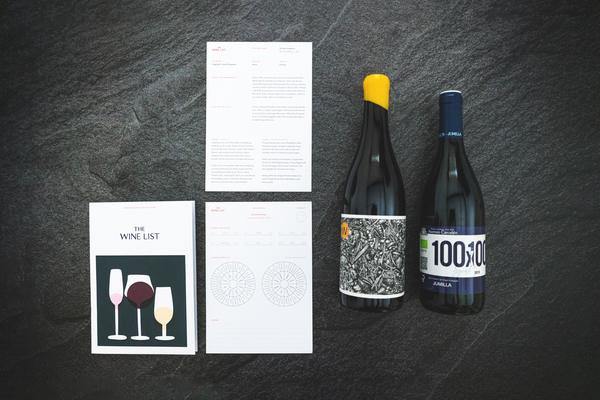 The first issue of The Wine List