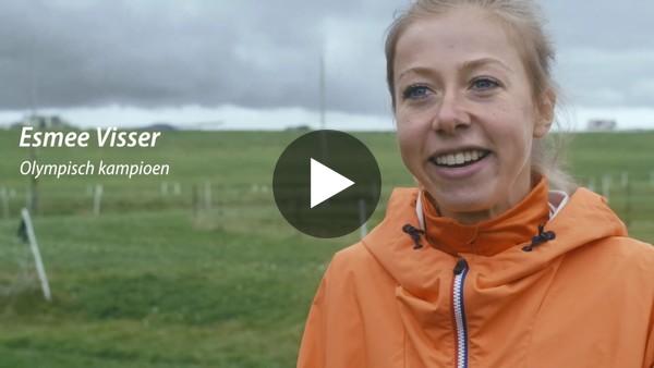 Esmee Visser vertelt over de kracht van haar ijsclub Nut & Vermaak. (video)
