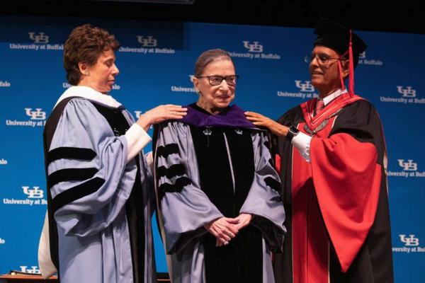Rechter Ruth Bader Ginsburg van het Supreme Court (foto: Reuters)