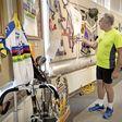 Eigen sporters krijgen eregalerij in museum Oud Alkemade: van een fiets van Joop tot dé paalzitter