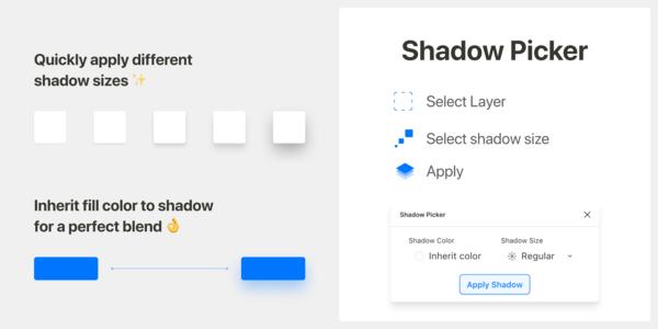 Shadow Picker — Figma plugin to help apply good shadows