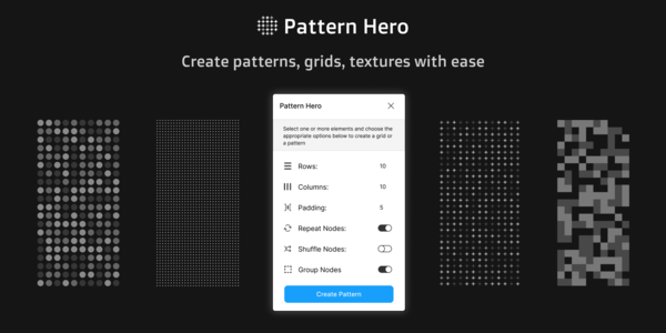 Pattern Hero — Figma plugin to create