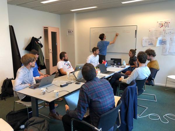 """Tijdens de """"Developer Week"""" van het Europees project SCORE"""