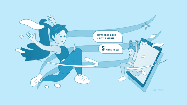 AI-powered fitness avatar soon to enter the world (Illustration: Luniapilot)