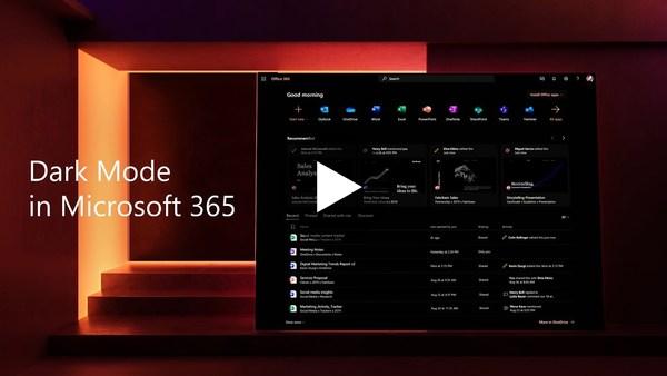 Dark Mode in Microsoft 365