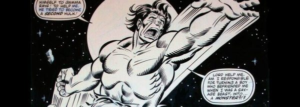 Sal Buscema - Incredible Hulk Original Comic Art