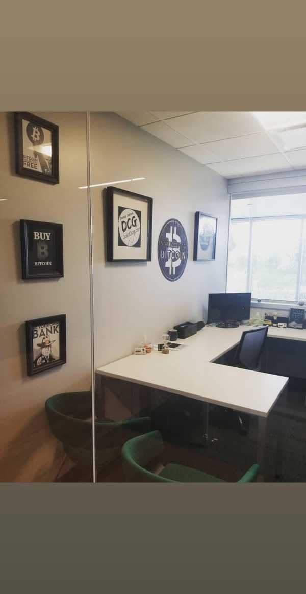 My Crypto Currency Trading Office in Costa Mesa! Come Visit Me!
