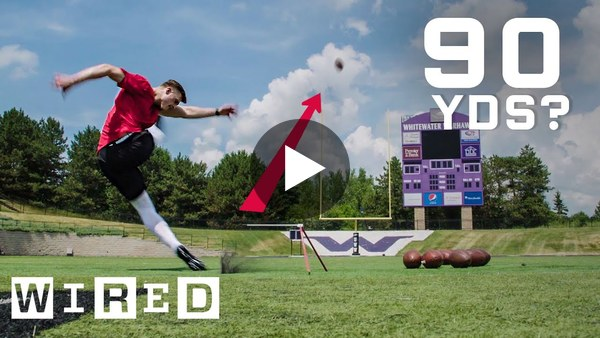 Why It's Almost Impossible to Kick a 90 Yard Field Goal | WIRED