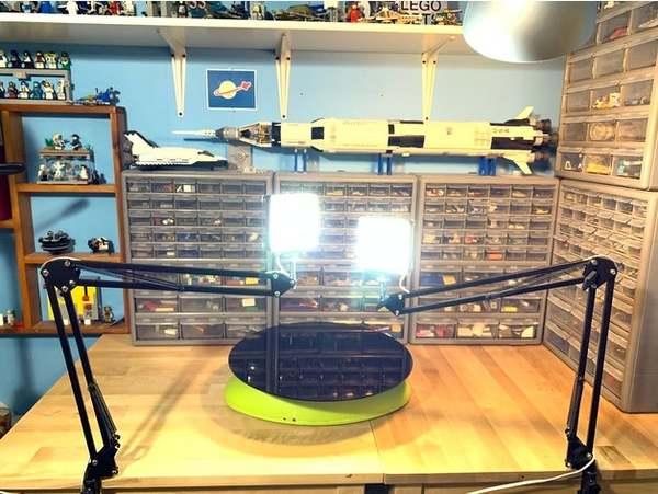 Make your own studio lights.