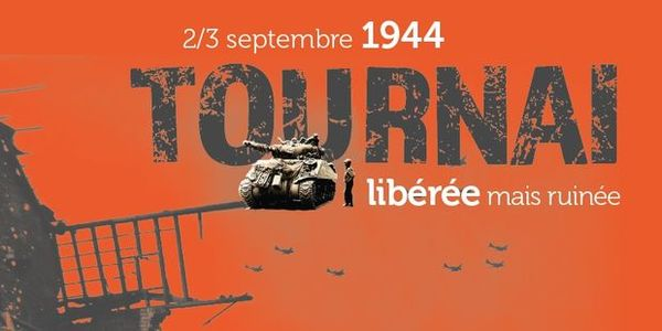Tournai libérée mais ruinée -  Doornik, bevrijd maar geruïneerd