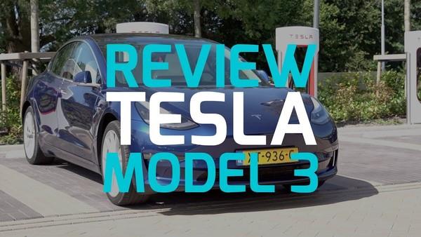 Tesla Model 3 review: Tesla-kleintje maakt indruk