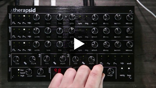 TherapSid MKII Overview and demos