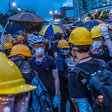 In Hong Kong Protests, Faces Become Weapons - The New York Times
