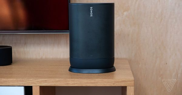 Sonos' first portable speaker