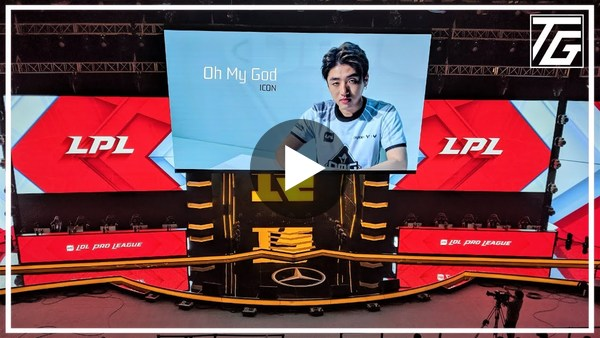 Tour of the coolest LoL arena I've ever seen - RNG in Beijing