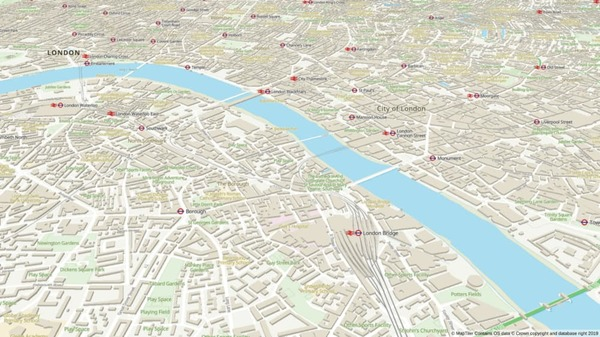 Ordnance Survey maps and styles now on MapTiler Cloud