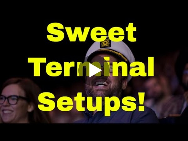 Sweet Terminal and Shell Setups: DevOps and Docker Live Show (Ep 55)