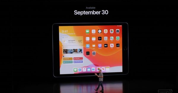 iPadOS comes out September 30th