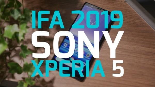 IFA 2019: Sony Xperia 5 heeft goede specs in klein pakketje