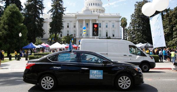 California Passes Landmark Bill to Remake Gig Economy