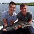 Grote visvangst
