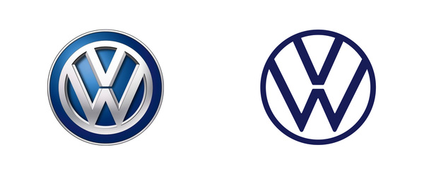 Brand New: New Logo and Identity for Volkswagen done In-house