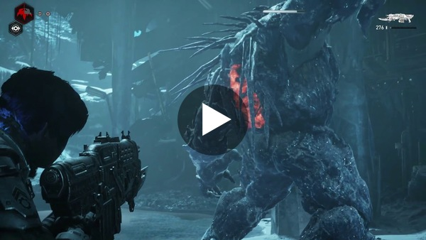 In his Gears 5 review, Dean noted that boss fights were big and tough. This video shows how difficult taking down one of those massive monsters can be.