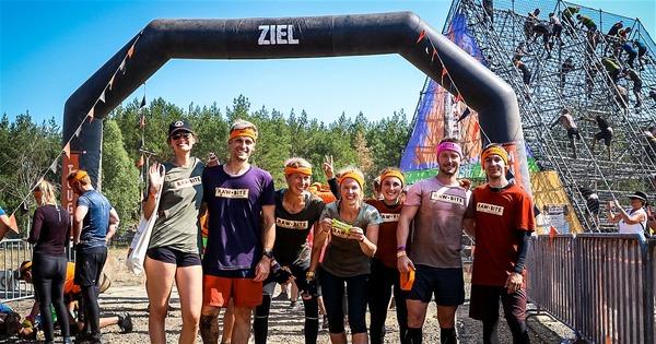 Tough Mudder 2019 - Team RAWBITE