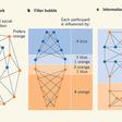 Information gerrymandering in social networks skews collective decision-making