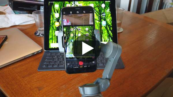 The Osmo Mobile 3 in use… on Vimeo