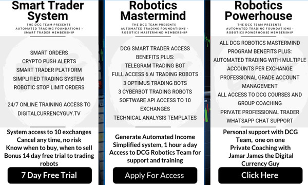 Check Out The DCG Automated Trading Platform  - DigitalCurrencyGuy.com/Robot