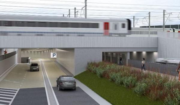 Début des travaux aux abords de la gare à Courtrai - Ingrijpende werken Stationsproject Kortrijk starten