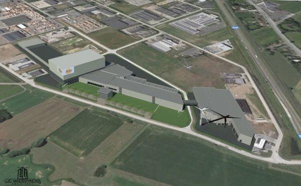 Nouvelle usine de pommes de terre à Poperinge - Nederlandse aardappelverwerker bouwt nieuwe fabriek in Poperinge