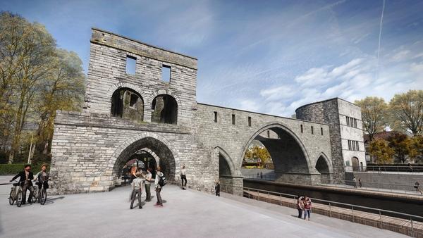 Les images officielles du futur pont des Trous ont été dévoilées - Beelden van de nieuwe pont des Trous in Doornik