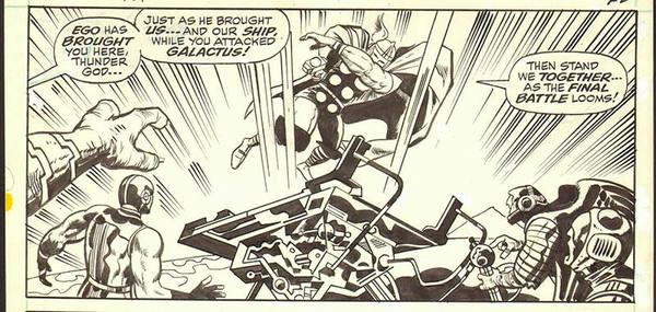 Jack Kirby - Thor Original Comic Art