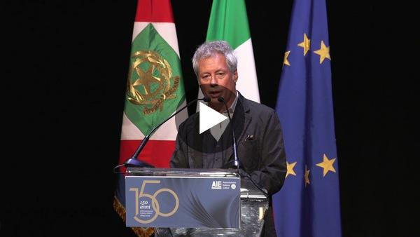 150 anni Aie: Baricco, la rivoluzione digitale non è nemico