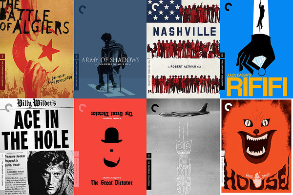 The 50 Best Criterion Collection Covers