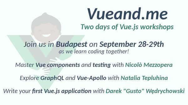 Vueand.me: Budapest edition – September 28-29