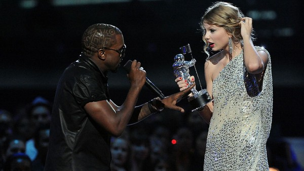 Kanye West and Taylor Swift's VMA Fiasco Would Never Happen in 2019