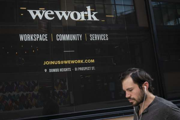 All the Reasons Things Are Going Very Poorly for WeWork This Week