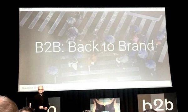 Da b2b a back to brand
